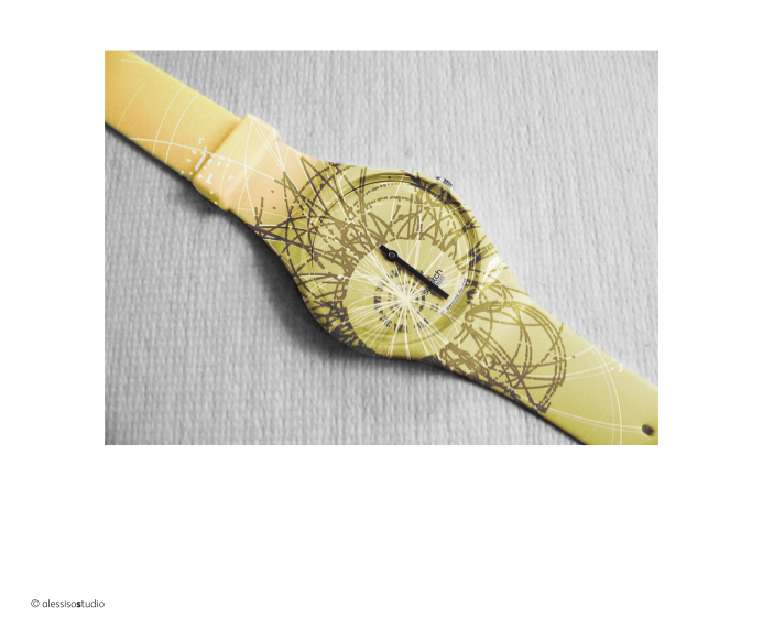 Proposal for a swatch elaborated by alessioStudio